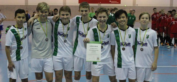 C-Junioren holen Bronze bei der Hallenmeisterschaft im Futsal / Zweites Team erreicht Viertelfinale