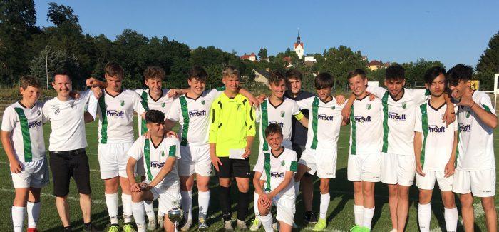 C-Jugend krönt starke Saison mit dem Turniersieg beim Allianz Soccer Cup in Meißen