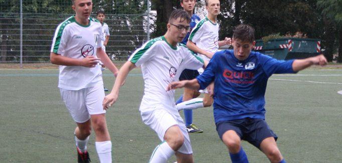 B-Jugend gewinnt auch zweites Dresden-West-Derby zweistellig